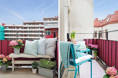 balkon aranżacje