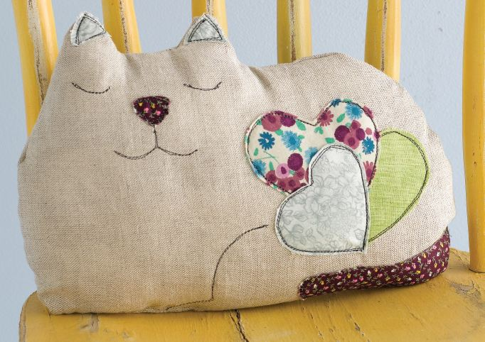 Сделай сам подушку с котиком - Nationalparks.ru