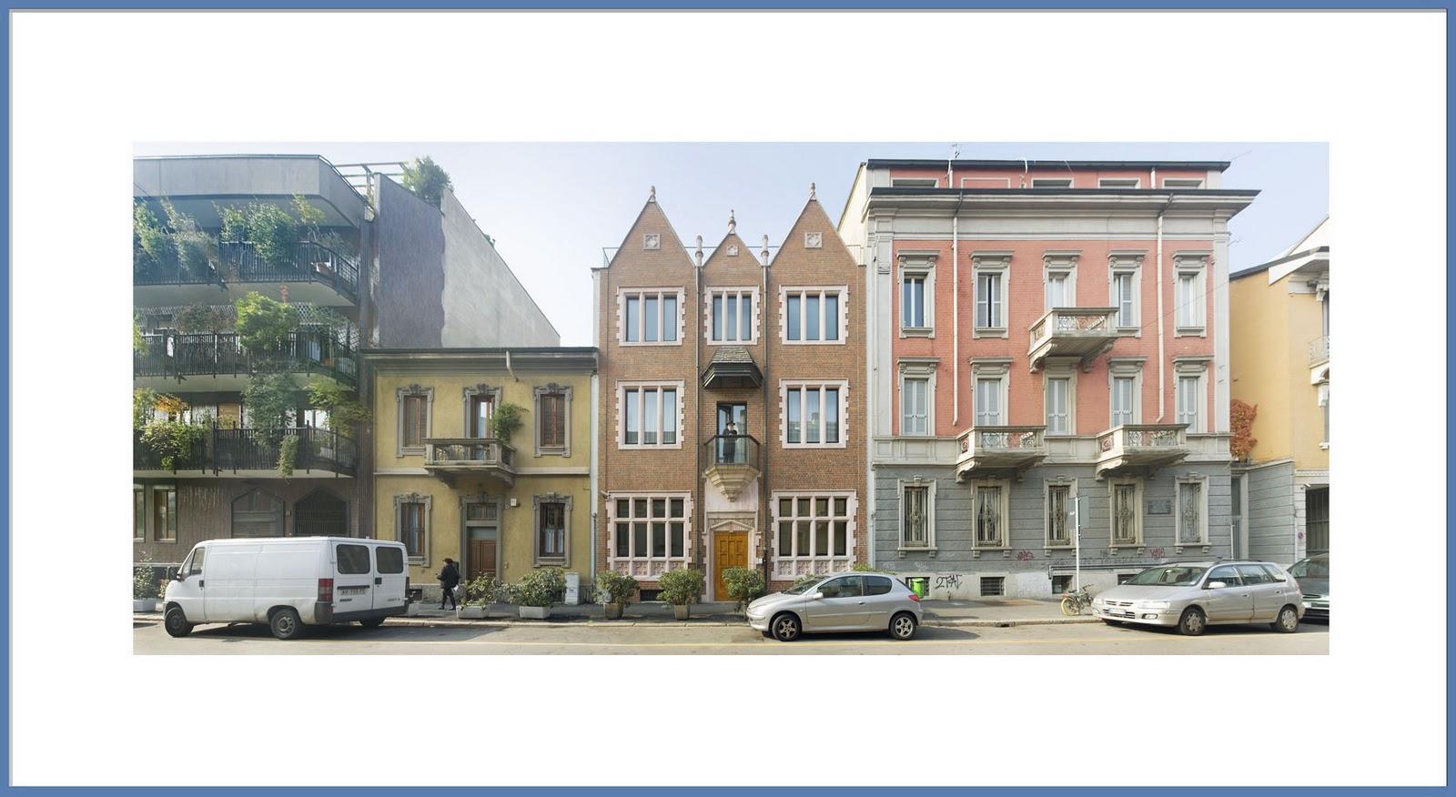 La casa 770 di via poerio urbanfile blog for La casa rosa milano