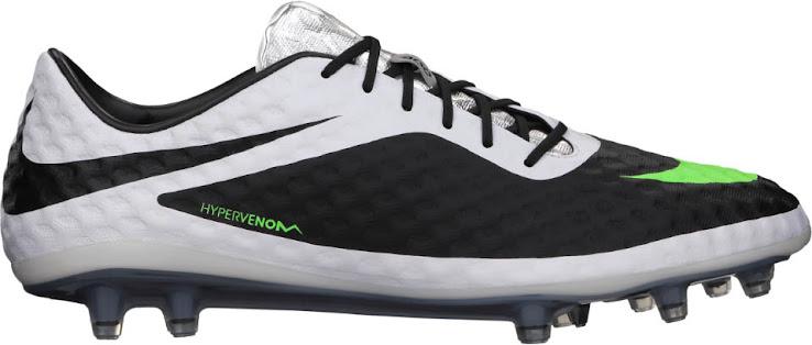 Nike Hypervenom Weiß / Schwarz / Grün