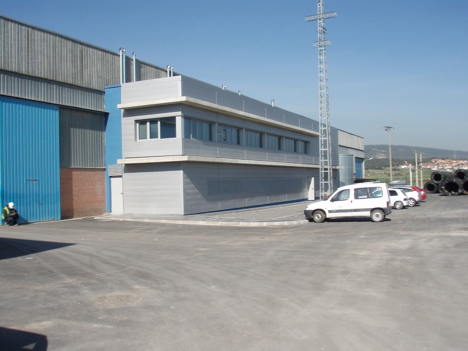 Oficinas industriales for Oficina correos vitoria