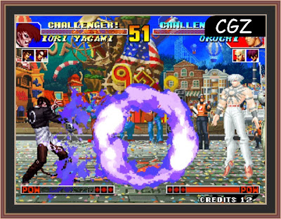 The King Of Fighters 97 Game Play