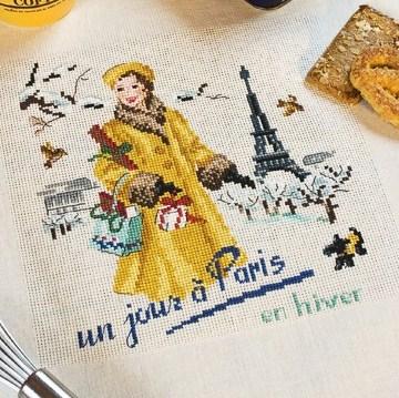 Один день в париже схемы вышивки