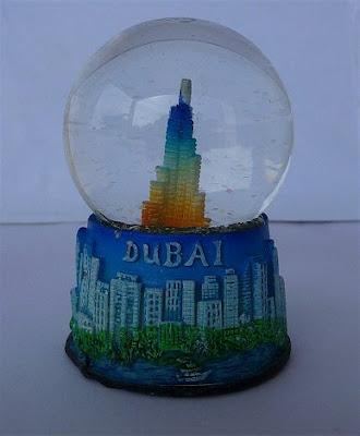 Palle di neve - Boule à neige - Snow globe (DUBAI)