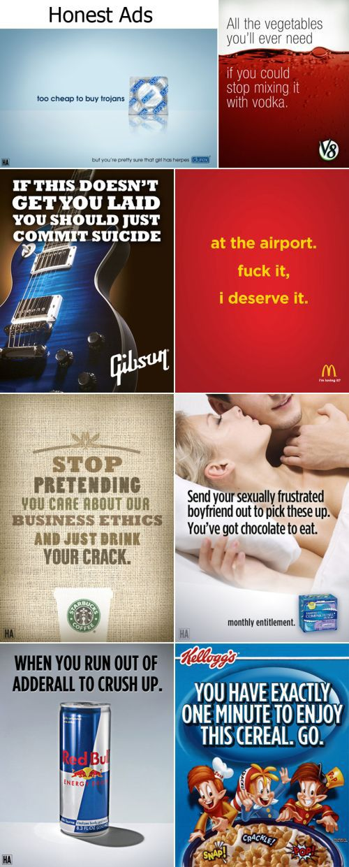 Honest ads