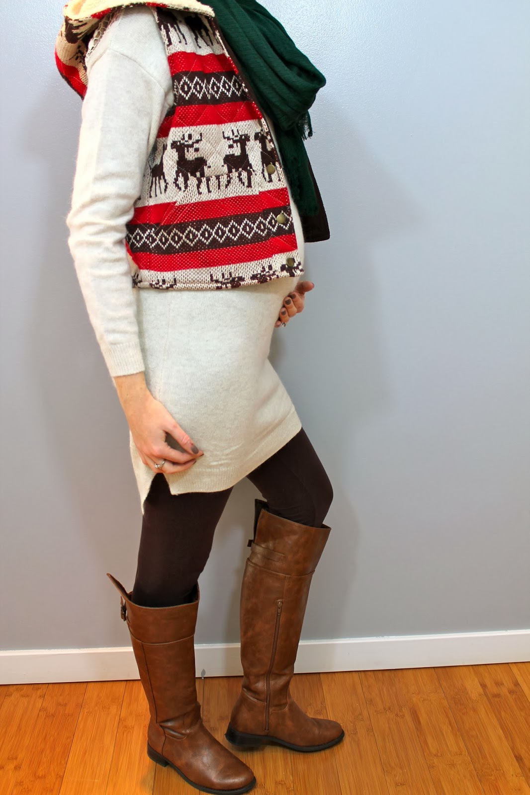 Fresh And Freckled Beautiful Bump Ugly Sweater