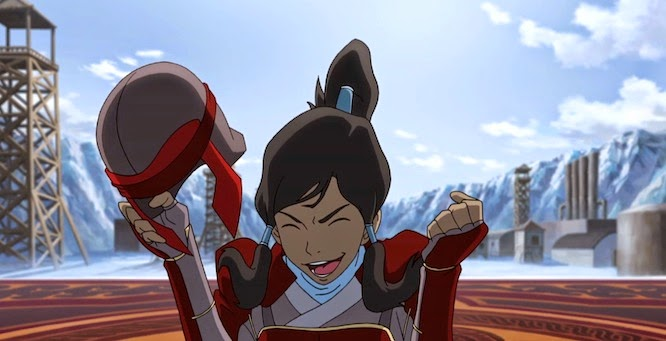 "The Legend of Korra - Book Two: Spirits"" On Wednesday 30th July 2014 ..."