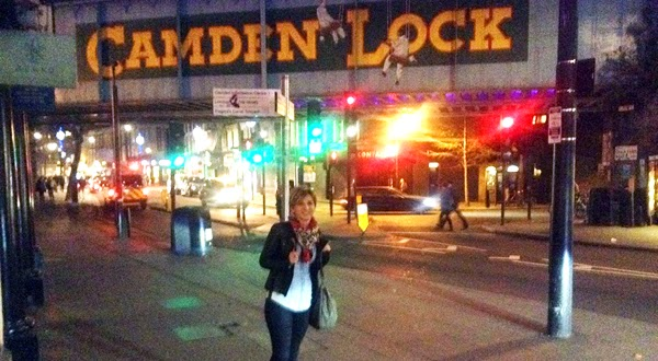 Estefania en Camden Town