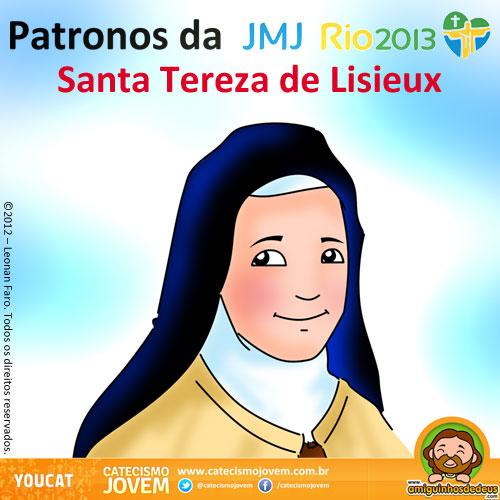 NORMAS DEL FORO Patronos+da+JMJ+Rio2013+-+Santa+Teresa+de+Lisieux+(1)