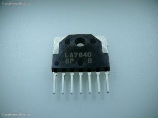 data pin rangkaian vertikal ic LA7840