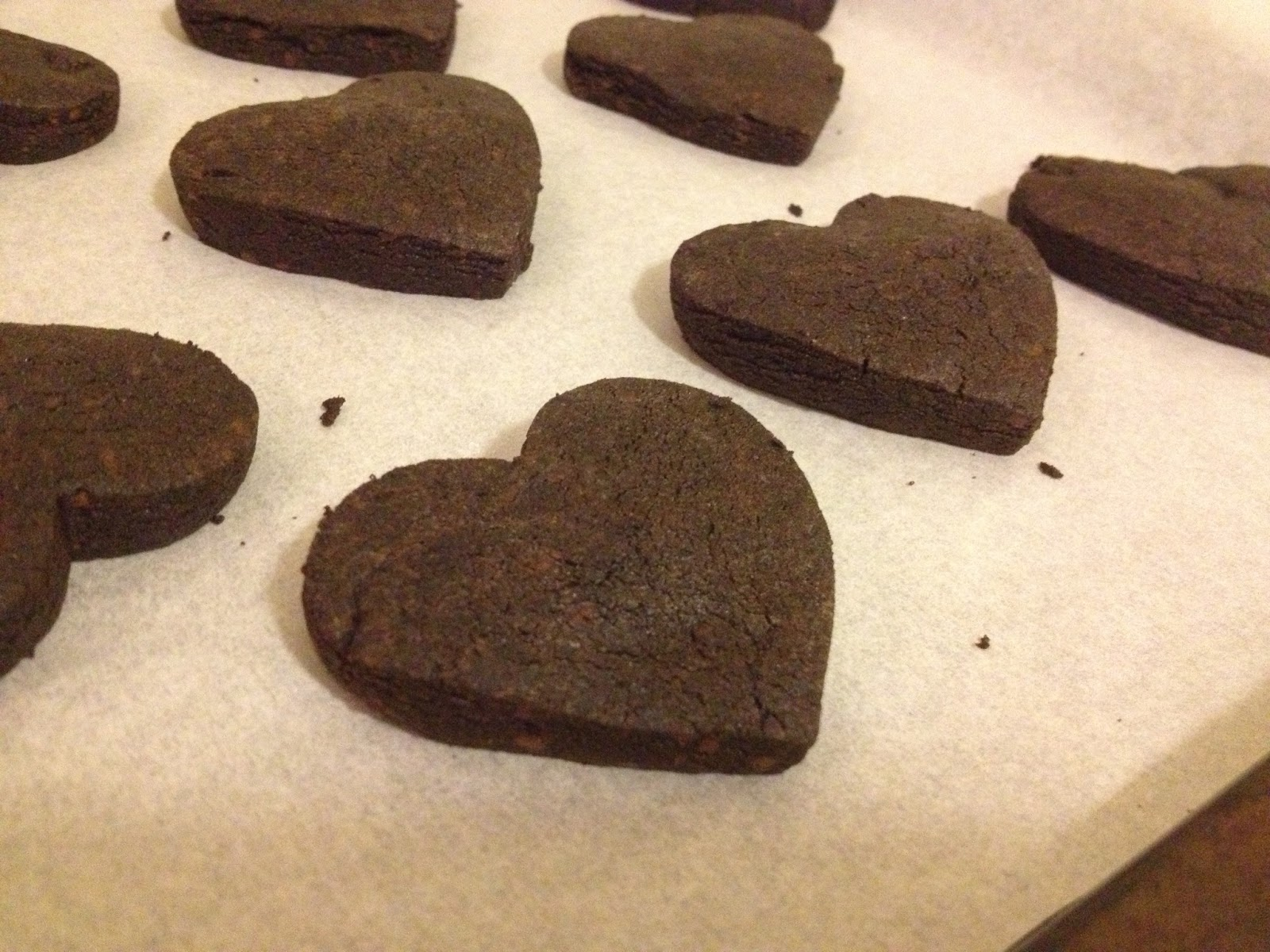 Mmm....mmm...marilynn: Intensely Chocolate Sable Cookies