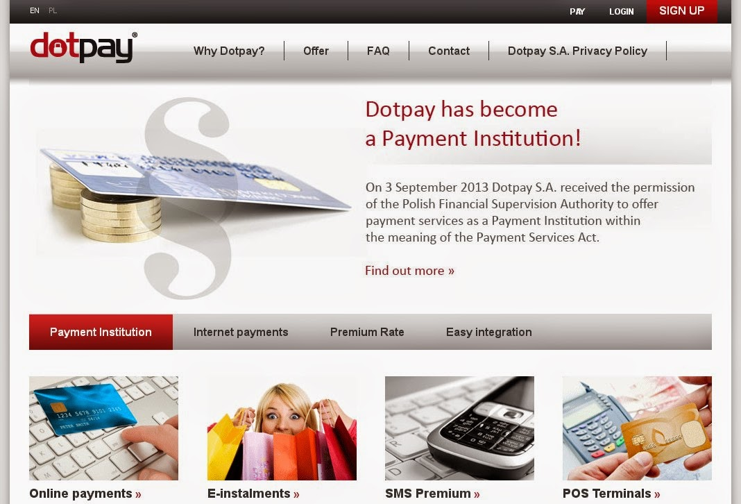 Dotpay Screen