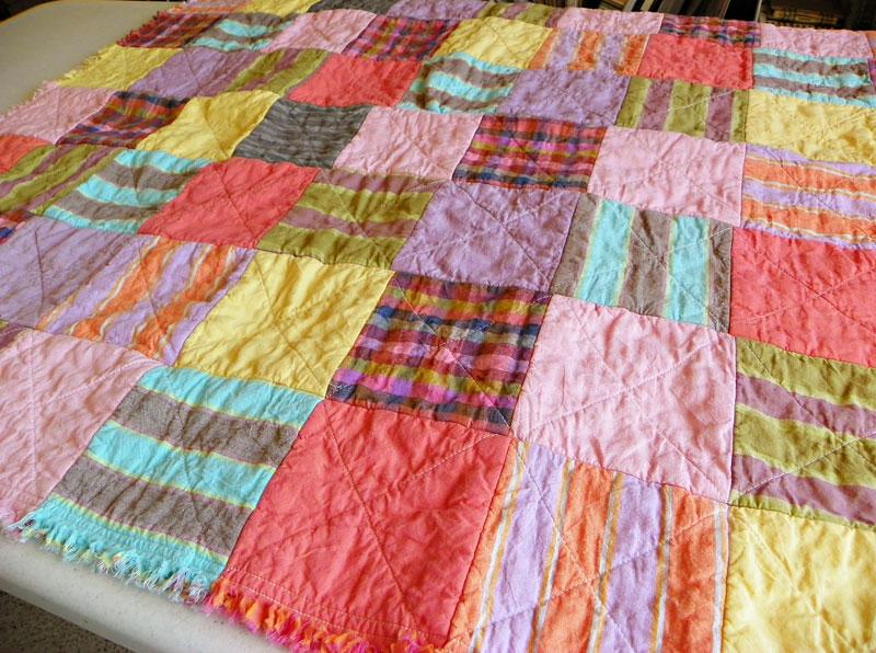 Super Easy Beginner Quilt Patterns : MightyCrafty: Baby Quilt