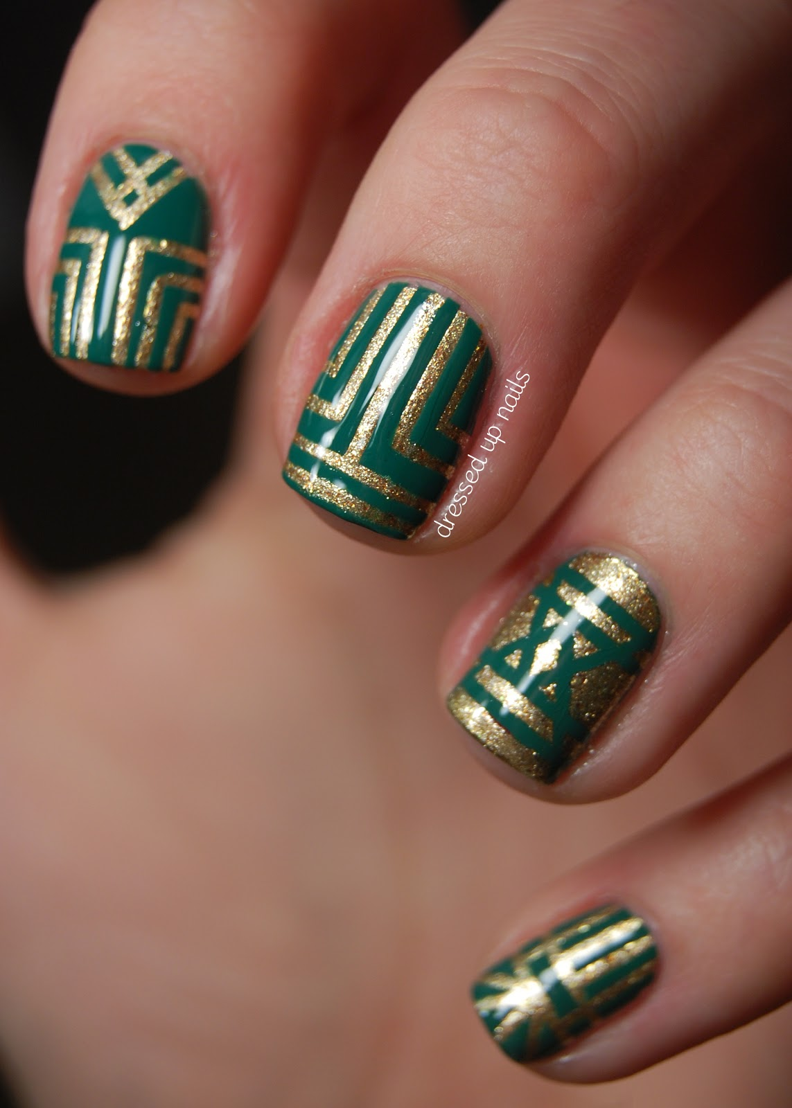 Nail Polish Designs With Tape | Nail Designs, Hair Styles, Tattoos and ...