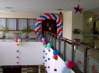 balon gate OMC lantai 2