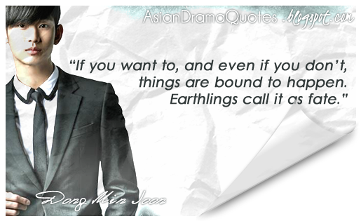 Korean Drama Quotes You Who Came From the Stars