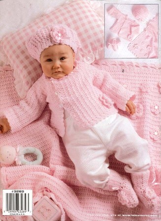 FREE CROCHET PATTERN SET FOR BABY - Crochet and Knitting Patterns