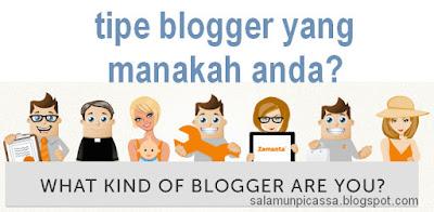 Tipe Blogger berdasarkan cara mengurus Blog