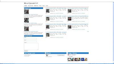 Mora cyber4rt v.1 Responsive Valid HTML5 Blogger Template