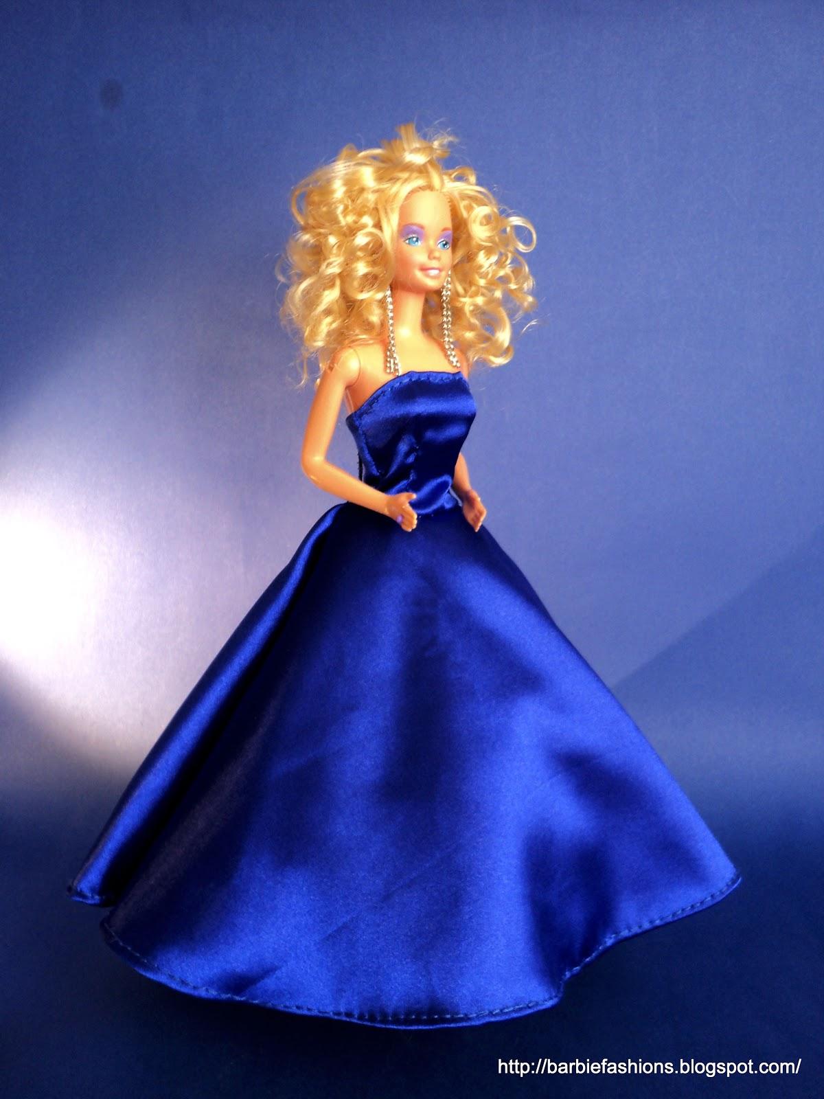 Бальное платье для барби своими руками 48