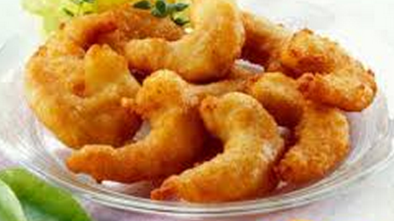 how to make golden fried prawns