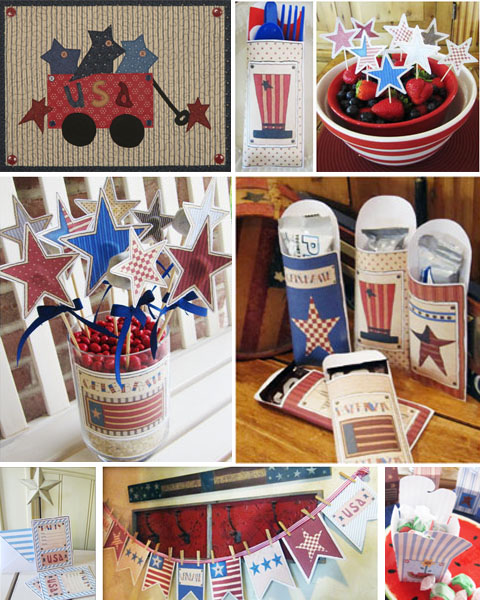 Patriotic Themed Party Ideas