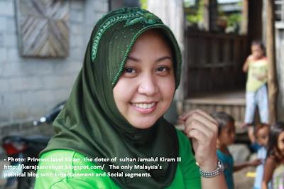 Princess Jacel Kiram anak Sultan Sulu, Sultan Jamalul Kiram