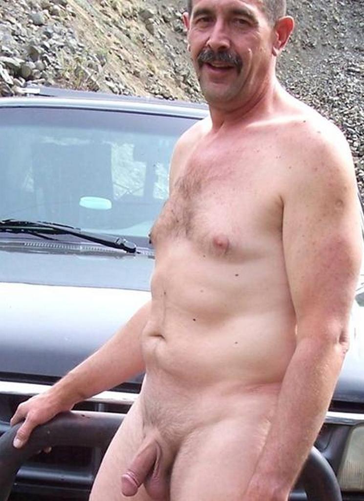 hot naked older men