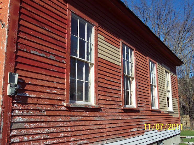 Schoolhouse-East Wall