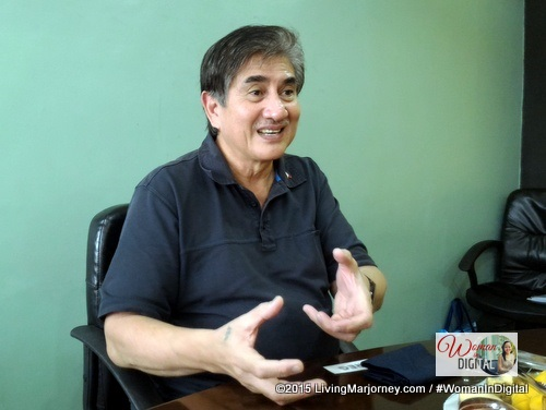 God, Country, and Family matters to Mr. Honasan.