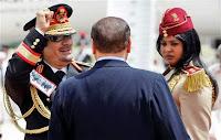 muammar algaddafi female bodyguards 16 Foto foto 40 Perawan Pengawal Pribadi Muammar Qadhafi