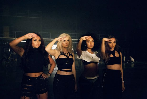 Little Mix take swipe at Simon Cowell in new single Not a