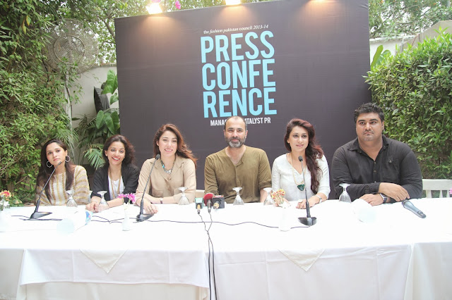 Fashion Pakistan Council press conference