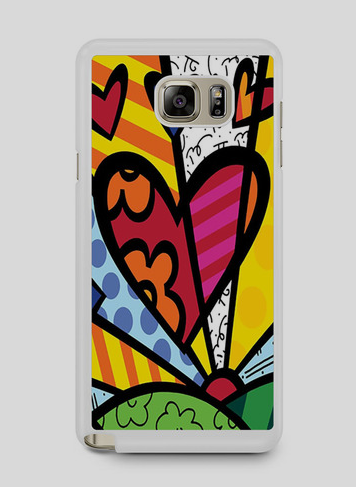 12. Romero Britto Pop Note 5 Case