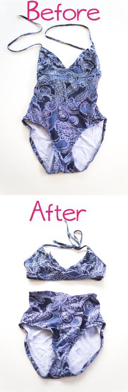 Traje De Baño Estilo Pin Up: parezca extraño se puede reciclar un traje de baño