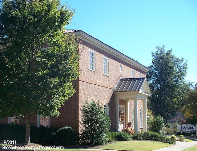 Greensboro georgia greene lake oconee golf restaurant bank for Oconee capital home builders