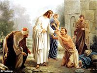 Foto de  Jesus cuidado dos pobres