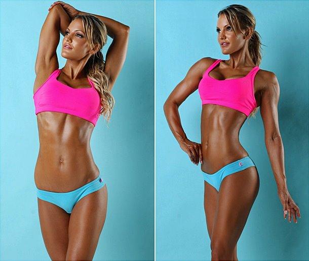 Bikini Fitness Model Stock Images - Download 10,535