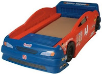 Step2 Stock Car Convertable Bed