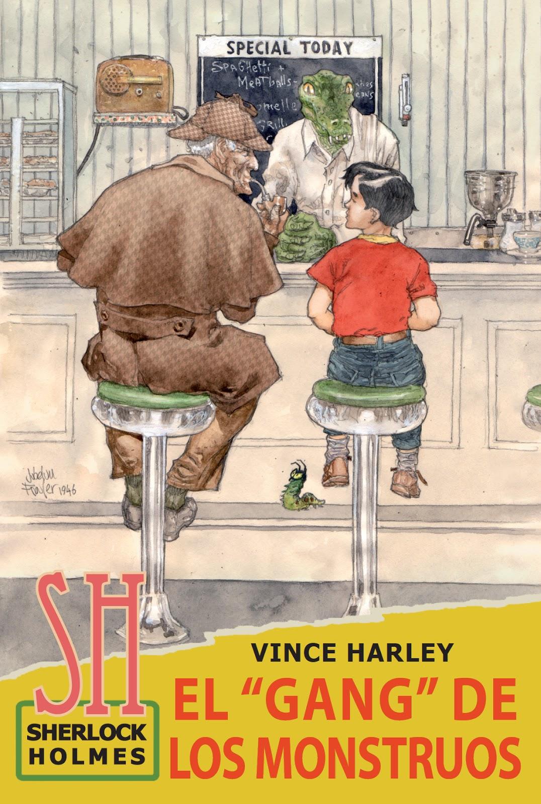 EL GANG DE LOS MONSTRUOS, de Vince Harley,