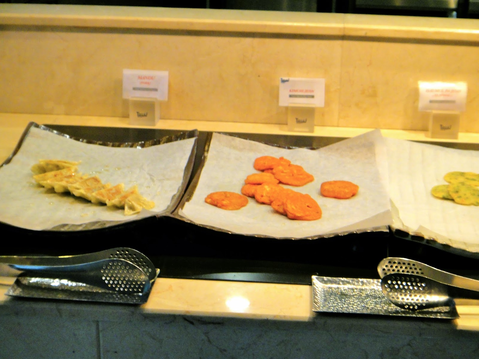 Fried Food Station at Todai Marina Bay Sands Singapore