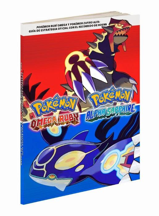LIBRO - Pokémon : Rubí Omega Y Pokémon Zafiro Alfa  Guía De Estrategia Oficial Con Recorrido De Hoenn  (The Pokémon Company - 28 noviembre 2014)  Guías de Videojuegos   Edición Español - Papel