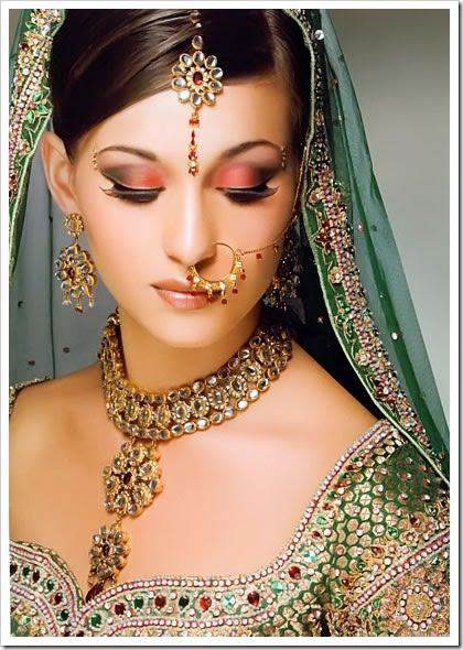 south indian bridal makeup. south indian ridal makeup.