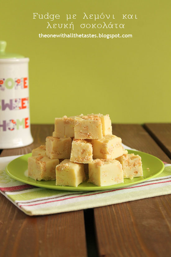 Lemon-white-chocolate-fudge
