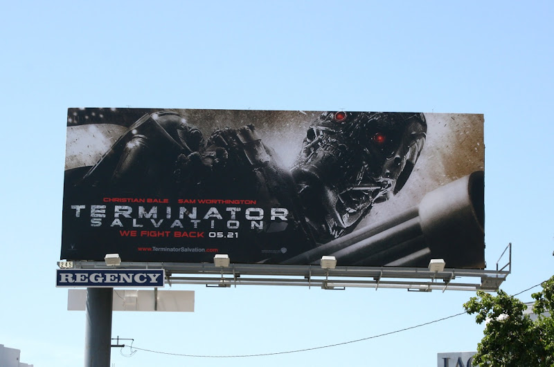 Terminator Salvation movie billboard
