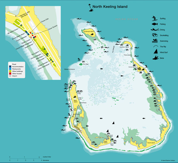 Cocos (Keeling) Islands Cocos Islands  city pictures gallery : MAPS OF COCOS ISLANDS KEELING ISLANDS AUSTRALIA FIJI PRESS ...