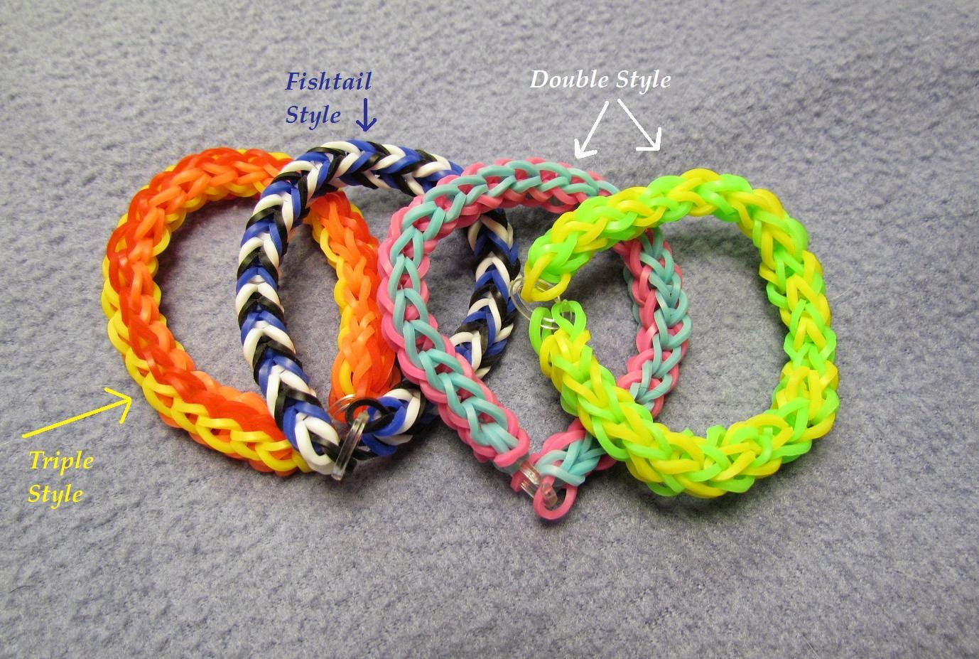 simple rainbow loom
