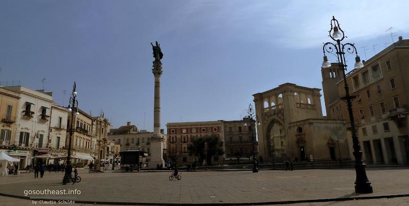 Piazza Sant'Oronzo in Lecce