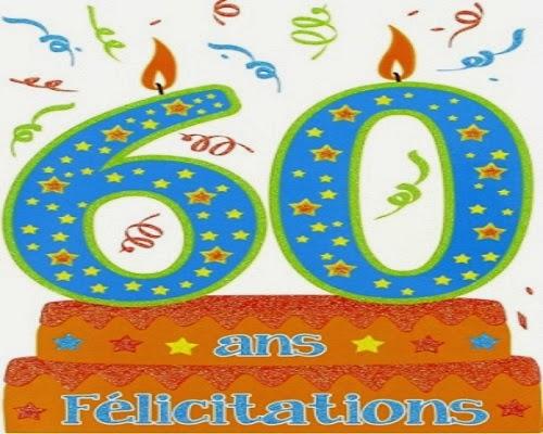 Texte anniversaire 60 ans | sms d'anniversaire message et texte d ...