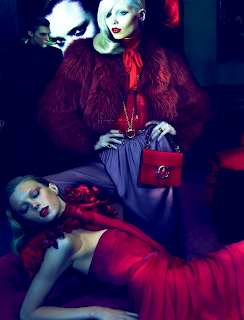 Joan Smalls & Abbey Lee Kershaw pour Gucci by Mert & Marcus